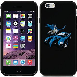 Coveroo Switchback Black Cell Phone Case for iPhone 6 - Retail Packaging - Batman with Batmobile