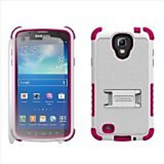 Beyond Cell Tri-Shield Durable Hybrid Hard Shell and TPU Silicone Case for Samsung Galaxy S4 Active i9252 i537 - Retail