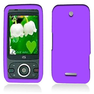 Aimo Wireless ZTEX500SK014 Soft n Snug Silicone Skin Case for ZTE Score M X500 - Retail Packaging - Purple