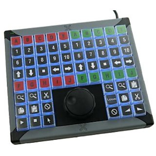 X-keys XK-68 USB Keyboard +Jog and Shuttle