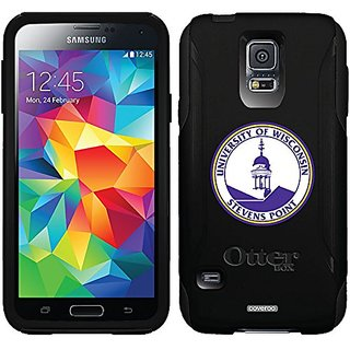 Coveroo Commuter Series Case for Samsung Galaxy S5 - Retail Packaging - Wisconsin Stevens Point Seal