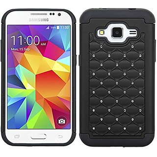 MyBat Asmyna Samsung G360 Prevail LTE FullStar Protector Cover - Retail Packaging - Black