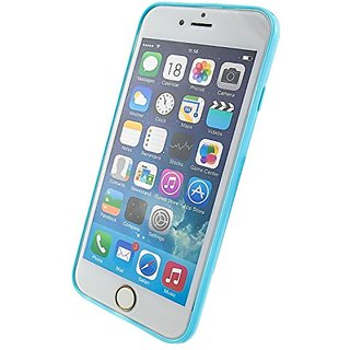 iPhone 6 Case, Innolife Essential Slim Perfect Fit 360 degree Colored Bumper Protection Matte Transparent Back TPU Soft