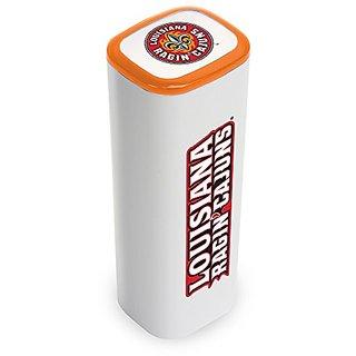 NCAA UL Lafayette Ragin Cajuns APU 2200JX USB Mobile Charger, White