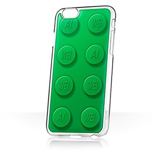 goo.ey Cell Phone Case for Apple iPhone 6 Plus/6S Plus - Retail Packaging - Ai Weiwei Ai-Bricks - Big Green
