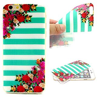 iPhone 6 Case, Ultra Slim Perfect-Fit Soft Flexible Gel TPU Case Colorful Skin Cover Feels Like Nothing There for iPhone