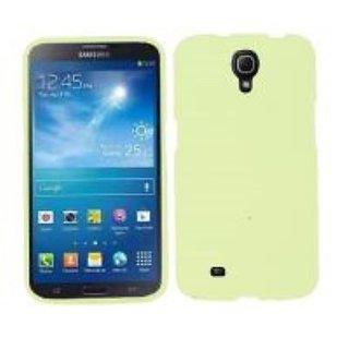 Cell Armor Snap-On Cover for Samsung Galaxy Mega - Retail Packaging - Fluorescent Light Green