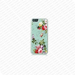 Krezy Case iPhone 6 Plus Case, iPhone 6 Plus case, Beautiful Colorful Flower Pattern iPhone 6 Plus Case, Cute iPhone 6 P