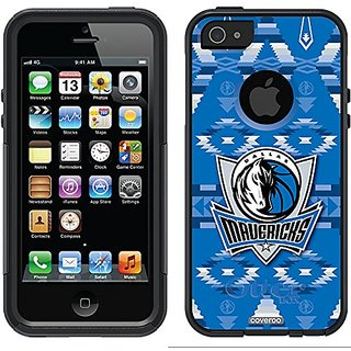 Coveroo Commuter Series Black Case for iPhone 5/5s - Dallas Mavericks Tribal Print