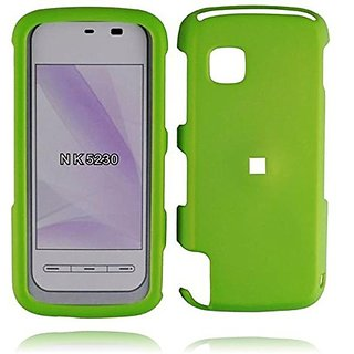 HR Wireless Nokia Nuron 5230 Rubberized Cover Case - Retail Packaging - Neon Green