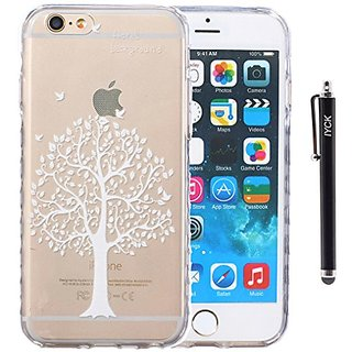 iPhone 6 Plus Case, iYCK Ultra Slim Thin Premium Flexible Soft TPU Extra Grip Anti-Scratch Protective Transparent Border
