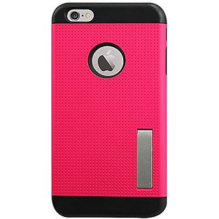 Reiko Premium Series Silicone Case + Protector Cover + Holster iPhone 6 Plus 5.5-Inch Drop Proof Full Protection - Retai
