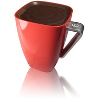 Music Cup Ultra-portable NFC Wireless Bluetooth Speaker (Red) - Great Christmas And New Year Gift