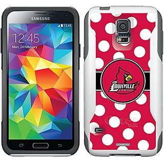 Coveroo Commuter Series Case for Samsung Galaxy Note 3 - University of Louisville Polka Dots