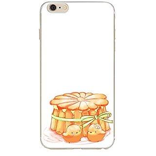 iPhone 6s case, Geekmart Soft TPU Cartoon Dessert Cover Case 4.7 inch (G)