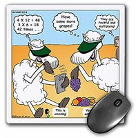 Jeremiah 23 01 06 Accounting Sheep Bible Fruitful Multiply Grapes Fruit- Mouse Pad, 8 By 8 Inches (mp_19593_1)