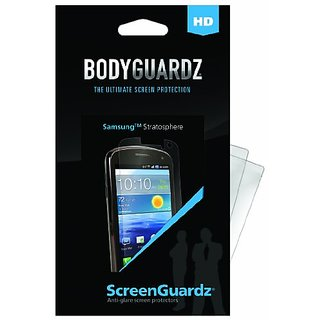 BodyGuardz BZ-HSST-1011 HD Anti-Glare Screen Protectors for Samsung Stratosphere 2 pk-Screen Protector - Retail Packagin