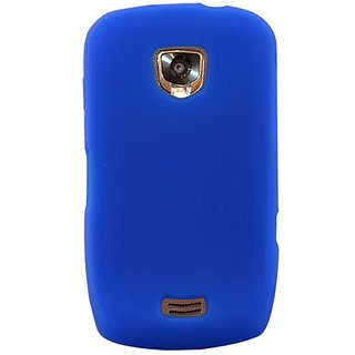 Hypercel Silicone Cover for Samsung DROID Charge - Skin - Retail Packaging - blue