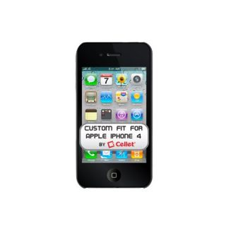 Cellet Ultra Thin Proguard Case for Apple iPhone 4 & 4S - Black