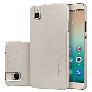 Nillkin Cell Phone Case for Huawei Honor 7i - Retail Packaging - Golden