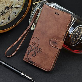 Cornmi design for iPhone 6 plus Case, Premium Vintage Flip Wallet Leather Magnetic Closure Cover Skin for iPhone 6 plus