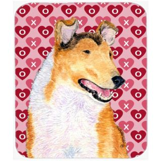 Carolines Treasures Mouse/Hot Pad/Trivet, Collie Smooth Hearts Love & Valentines Day (SS4470MP)