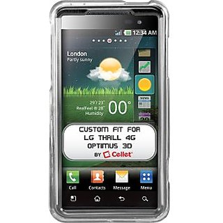 Cellet Transparent Proguard Case for LG Thrill 4G/Optimus 3D