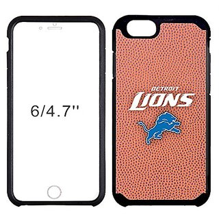 NFL Detroit Lions Classic Football Pebble Grain Feel iPhone 6 Case, Brown