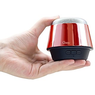 Gsou U180 Universal Portable Wireless Bluetooth Speaker, Red