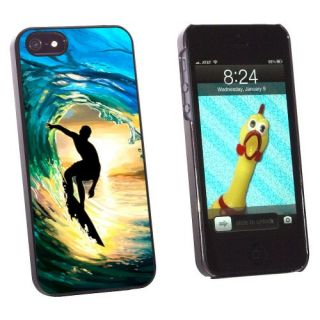 Graphics and More Surfer - Surf Ocean Wave Sunset Snap-On Hard Protective Case for Apple iPhone 5/5s - Non-Retail Packag