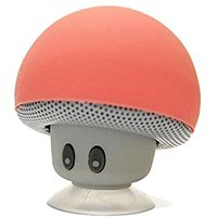 Wireless Portable Mini Mushroom Bluetooth Speaker - Built-in Lithium Battery And Mic - Auto Pairing Feature For Easy Pai