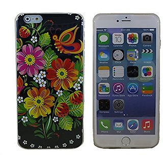 Creative Case Lovely Flowers Soft Shell Case for iPhone 6 (4.7 Inch Screen) (CF-H-I6-06)