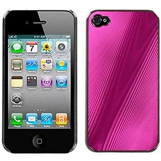 MYBAT IPHONE4AVHPCBKCO101NP Premium Metallic Cosmo Case for iPhone 4 - 1 Pack - Retail Packaging - Hot Pink
