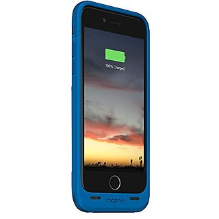 mophie Juice Pack Charger for iPhone 6 Plus - Retail Packaging - Blue