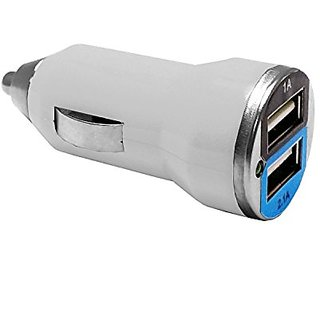EpicDealz 2.1Amps / 10W Dual Port USB Rapid Car Charger for Samsung Galaxy Note 4 / 3 / 2/ Edge / Galaxy S6 / S5 / S4 /