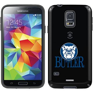 Coveroo Butler Face on Top Design Phone Case for Samsung Galaxy S5 - Retail Packaging - Black