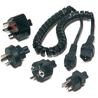 APC INPA3 C6 3-Prong International Notebook Plug Adapter Kit