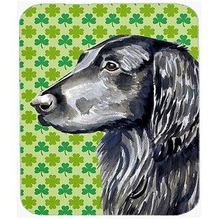 Carolines Treasures Mouse/Hot Pad/Trivet, Flat Coated Retriever St. Patricks Day Shamrock (LH9186MP)