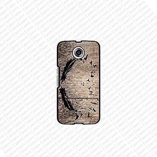 Krezy Case Google Nexus 6 Case, Feather on wood google nexus 6 case, Nexus 6 Case, Cute nexus 6 case, Cute Google nexus