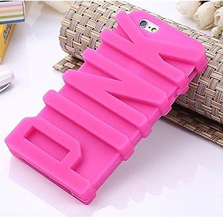 Go Crazzy Pink Silicone Back Case Cover For Iphone 6 4.7 Inch Pink