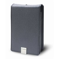 Canon PSC-1000 Deluxe Grey Leather Case For The Canon SD1000, SD1100IS, SD770IS And SD1200IS Digital Cameras
