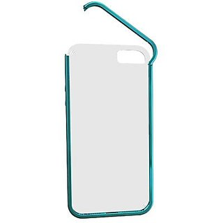 iWalk BCE002i5-012A Easy Wear Series Protective Hinge Case for iPhone 5 - Retail Packaging - Blueish Green