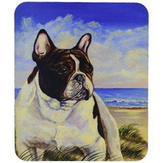 Carolines Treasures Mouse/Hot Pad/Trivet, French Bulldog at The Beach (7171MP)
