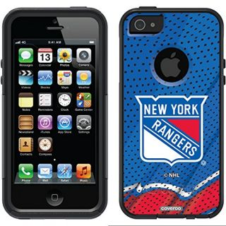 Coveroo Commuter Series Cell Phone Case for iPhone 5c - Retail Packaging - New York Rangers Primary Logo