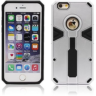 iPhone 6s Case,Soft Interior Silicone Bumper&Hard Shell Solid PC Back,Shock-Absorption&Skid-proof,Anti-Scratch Hybrid Du