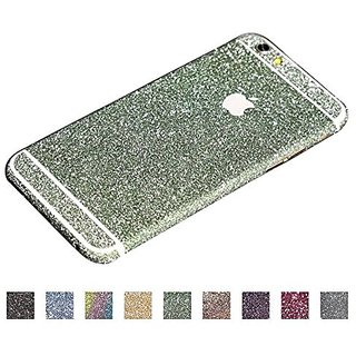 Supstar Sparkly Crystal Diamond Sticker Full Body Skin Wrap Covered Edges Vinyl Decal Screen Protector Film for Apple iP