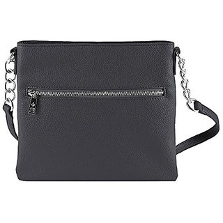 Chic Buds Cross Body Power Portable Charger for Universal/USB Devices - Retail Packaging - Charcoal