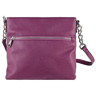 Chic Buds Cross Body Power Portable Charger for Universal/USB Devices - Retail Packaging - Plum