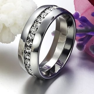 Stainless Steel Wedding Ring For Men And Women