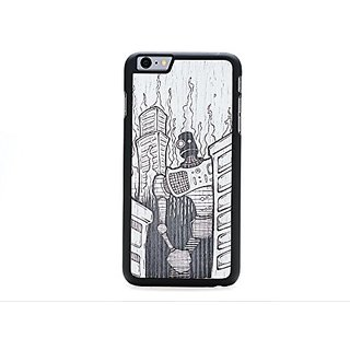 CARVED Monochrome Robot Doom by Augiewan iPhone 6/6s Plus Slim BK